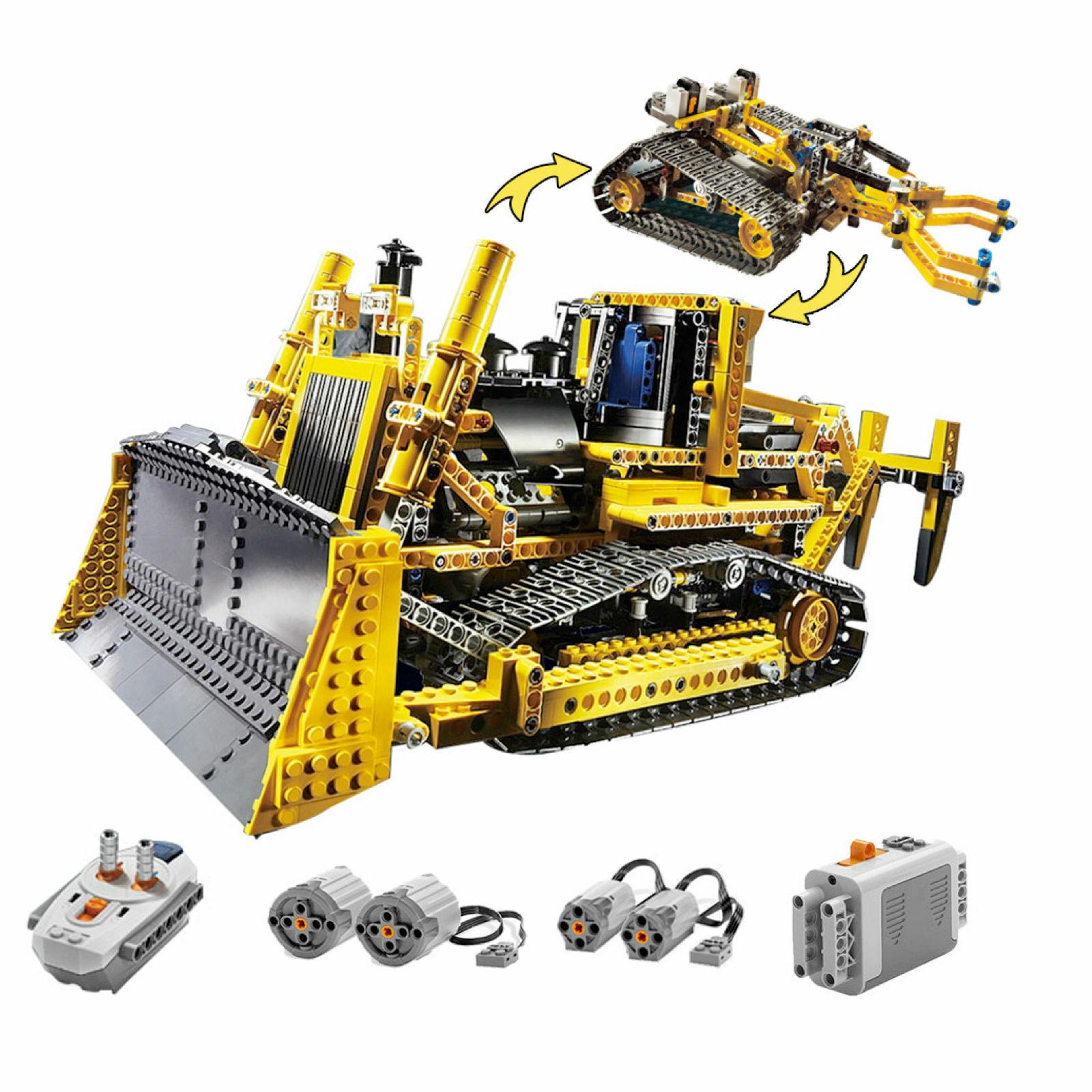 Compatibile con Lego Technic 8275 Bulldozer RADIOCOuomoDATO motorizzata modellololo palazzo   edizione limitata a caldo
