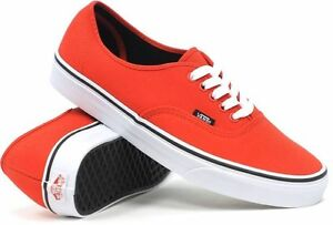 252f244902c Image is loading Vans-Shoes-Authentic-Fiery-Red-Black-USA-Size-