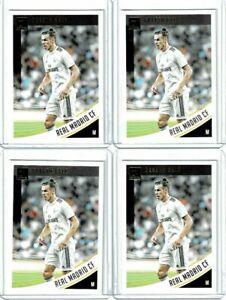 2019 Panini Donruss Soccer Gareth Bale (Real Madrid) Base Card #25 Lot of 4
