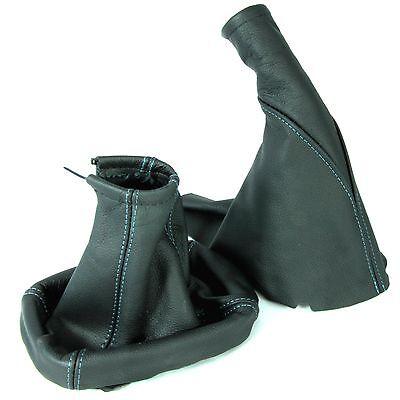 Gear Stick Gaiter For Vauxhall Corsa C 2000-2006 Black Leather