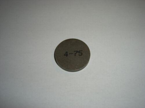 Einstellplättchen vanne valve shim LANCIA Delta Intégrales /& EVO 4,75 MM