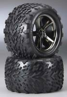 Traxxas Revo Pre-mounted Talon Tires W/gemini Wheels (2) 5374a