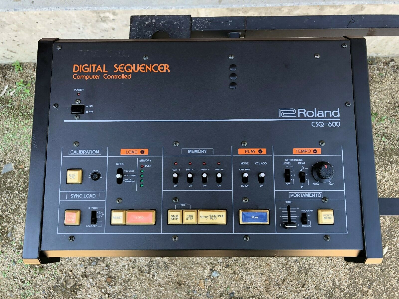 Roland CSQ-600 Sequencer serviced and adjusted latest ROM installed
