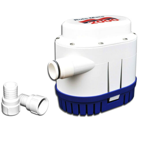 Rule 2000 GPH Fully Automated Bilge Pump 7570 LPH