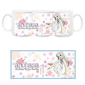 Ano-Hana-Menma-Fiori-di-Loto-Tazza-Ceramica-Mug-Cup-Anime-Manga
