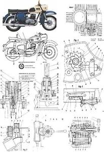 MZ Motorrad - Technik Kompendium auf 1025 Seiten
