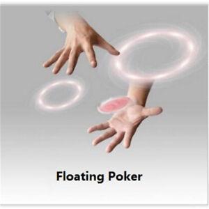 Floating-Poker-Card-Hummingbird-UFO-Cards-Stage-Street-Close-Up-Magic-Tricks-THK
