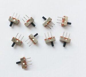 20pcs SS12D00G4 SPDT 1P2T 2 Position 3 Pin PCB Panel Vertical Slide Switch  AF