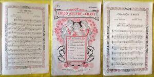 """""""chefs D'oeuvre Du Chant N°4"""" - Felix Juven. (godard, Adam, Audran, Gounod, ...) A8sdfrd4-07173642-349263138"""