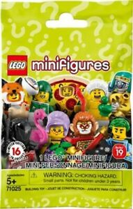 71025 new and sealed Lego choose your minifigures series 19 ref
