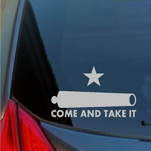 Come-And-Take-It-Cannon-vinyl-sticker-decal-2nd-Amendment-Constitution-Liberty