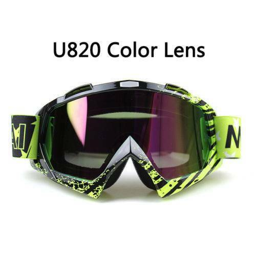 Adult Goggles Motorcycle Motocross Racing ATV MX Dirt Bike Off Road Eyewear NEW