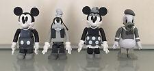 Medicom Toy Kubrick - Disney - Mickey, Goofy, Minnie, & Donald - lot of 4