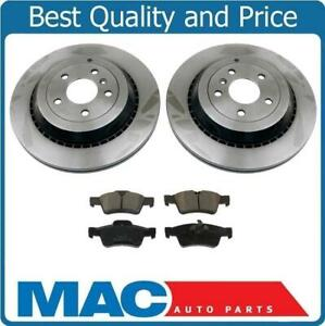 2006 2007 Mercedes Benz R500 Rotors Ceramic Pads F OE Replacement