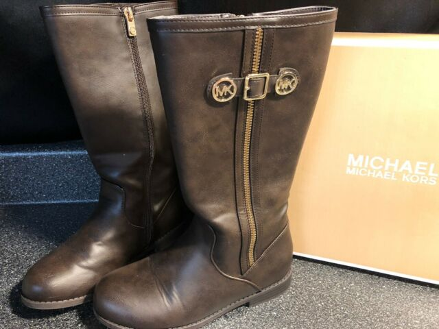 girls brown boots size 2