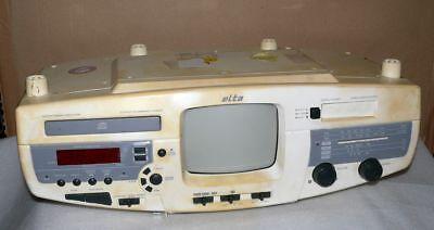 ELTA 4254 4IN1 Küchen Unterbau radio CD Player Kassette Fernseher TV 13cm  CD De1 | eBay