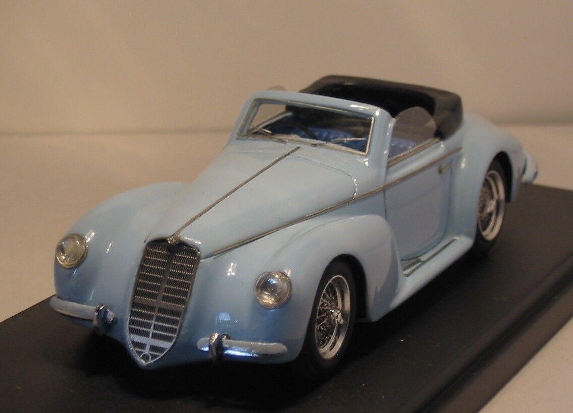 Alfa Romeo 6C 2500 SS Touring Spyder Ettore Muti 1940 - Hand Built Klaxon 1 43