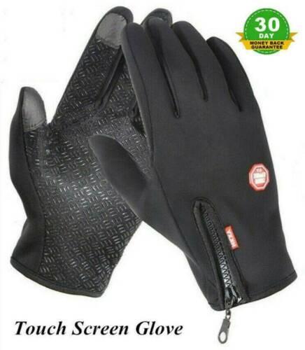 Men Women Winter Warm Windproof Waterproof Thermal Touch Screen Gloves Mittens ~