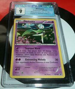 Pokemon Meloetta XY193 Black Star Promo CGC 9 Mint (BGS PSA)
