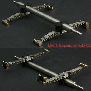 LESU-Metal-Suspension-Axle-Set-for-1-14-TAMIYA-RC-Trailer-Plate-Truck-DIY-Model