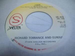 Rock-Unplayed-NM-45-RICHARD-TORRANCE-AND-EUREKA-Lady-on-Shelter