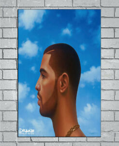 D-1237 New Drake Nothing Was The Same Rap Music Album Cover