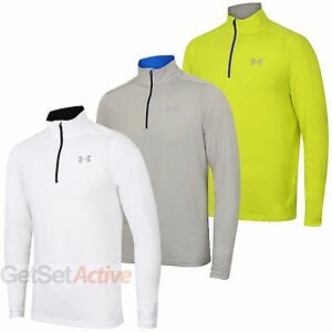 Under Armour Mens Streaker Heatgear Long Sleeve 1 4 Zip
