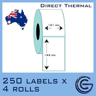 100mm x 150mm 1000pcs Label for Zebra Datamax for Auspost Startrak TSC