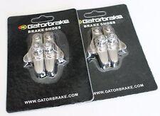 Gatorbrake Road Bicycle Bike brake pads shoes catridge for Shimano, Ti color,2pc