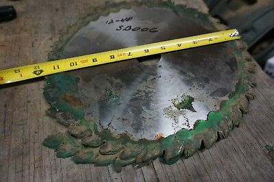 """12"""" Dinosaw Saw Blade For Straight Line Rip Saw 1 1/2"""" Bore 40 T"""