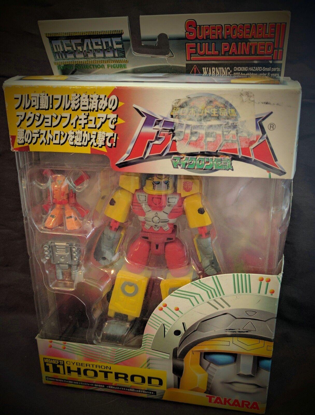 MEGASCF Transformers Cybertron HOTROD Takara MISB