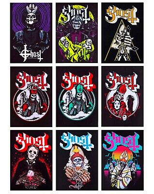 Ghost patch DIY printed patches rock groove hard rock heavy metal doom ghost b c
