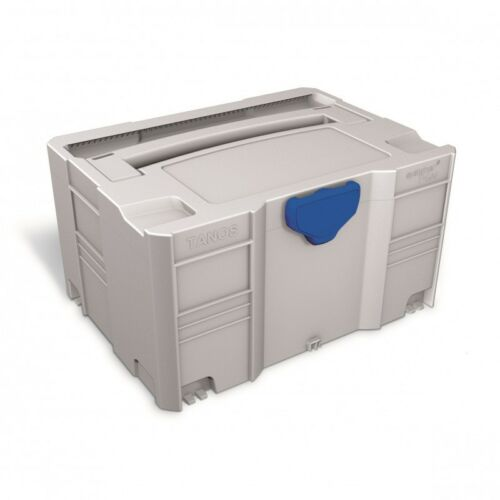 TANOS systainer® T-loc III    Leer-Systainer lichtgrau    80100003