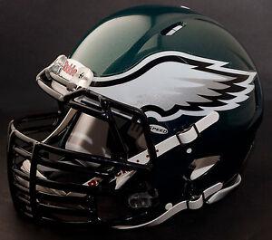 27e165cb0a7 Image is loading CUSTOM-PHILADELPHIA-EAGLES-NFL-Riddell-SPEED-Full-Size-