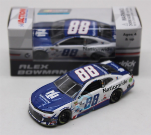 NASCAR 2018 ALEX BOWMAN  PATRIOTIC NATIONWIDE INSURANCE  1 64 CAR