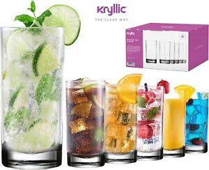 Acrylic-Highball-Drinking-Glasses-Cups-Plastic-Tumblers-16-OZ-Set-of-6-BPA-Free