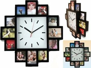 Image Is Loading 12 MULTI APERTURE MODERN COLLAGE PHOTO FAMILY PICTURE