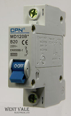 6A 16A 32A MCB/'s CPN Miniature Circuit Breakers