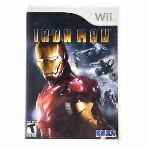 Iron Man (Nintendo Wii, 2008) Complete w/Manual CIB