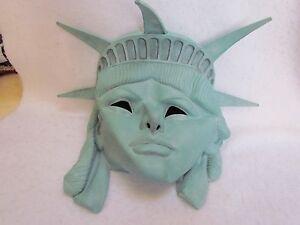Statue Of Liberty Over The Head Halloween Latex Mask Ebay
