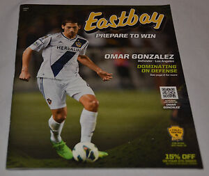MINT! Eastbay Catalog OMAR GONZALEZ Cover LOS ANGELES GALAZY July 2013 LA