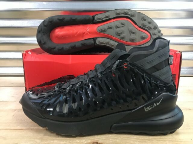 072f2ab0a Nike Air Max 270 ISPA Shoes Black Anthracite Dark Stucco SZ 13 ( BQ1918-002