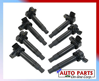 8pc  90080-1902 Toyota Ignition Coil For 4Runner Land Cruiser Sequoia Tundra