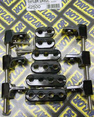 Taylor 42500  Black horizontal 8MM plug wire loom kit