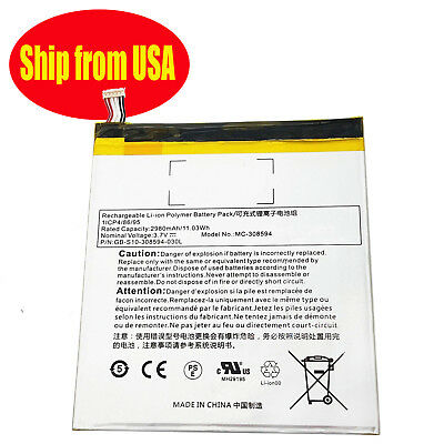 "Original Battery For Amazon Kindle Fire 7/"" 5th Generation SV98LN 2015 MC-308594"
