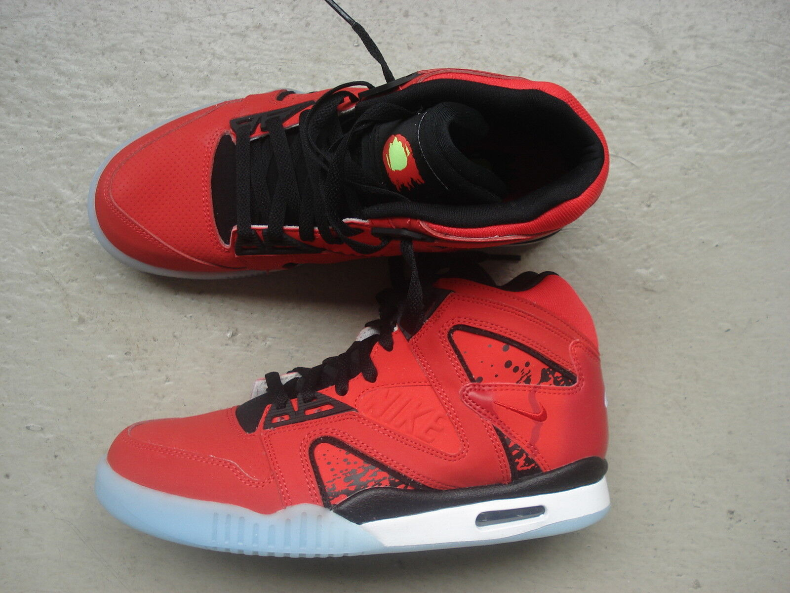 """Nike Challenge Air Tech Challenge Nike Hybrid 42.5 """"Chilling ROT"""" ROT-Blk-Weiß c917af"""