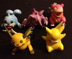 5-X-TOMY-Original-Pokemon-Figures-RARE-Pikachu-C-G-T-S-J-Save-2-Multibuy