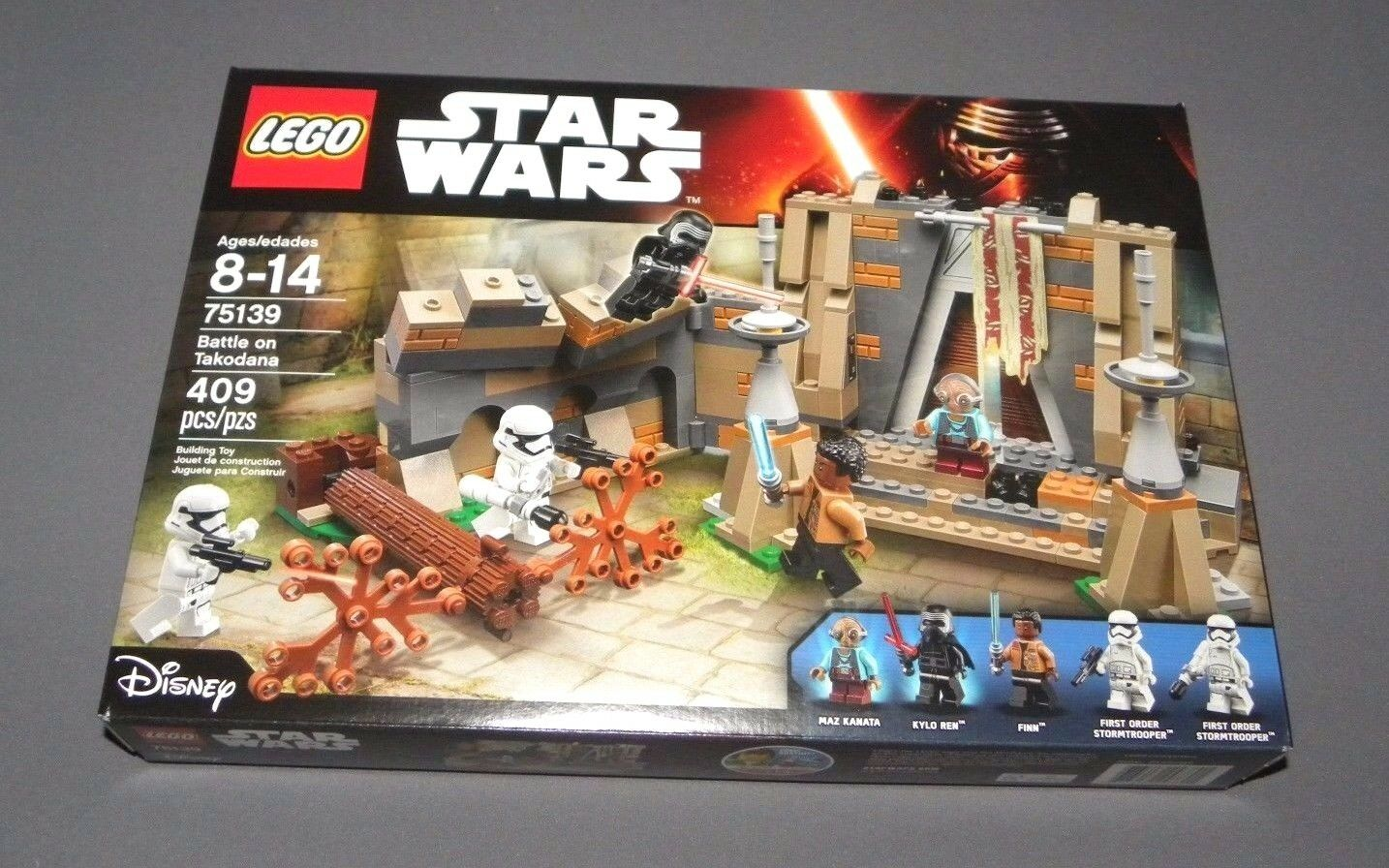 LEGO Battle on Takodana 75139 Set Star Wars The Force Awakens w Kylo Ren NEW