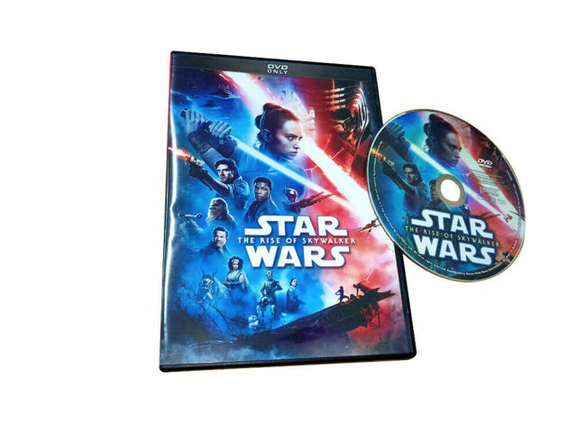 Star Wars The Rise of Skywalker (DVD,2019 2020) *US SELLER*& Free shipping