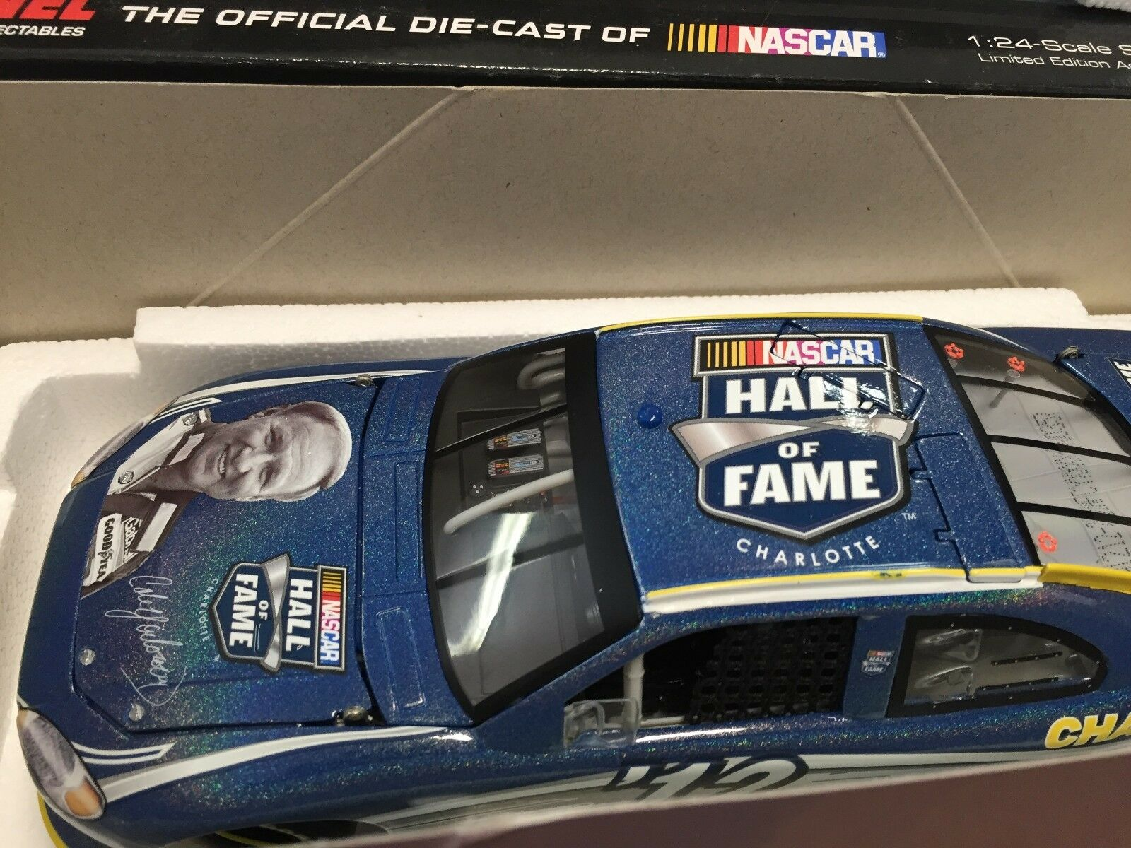 Action 1 24 Cale Yarbgoldugh 2012 NASCAR HOF 1 of 439 Ford Fusion